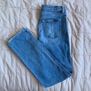 7 For All Mankind Jeans - 7 for all mankind Edie cropped jean